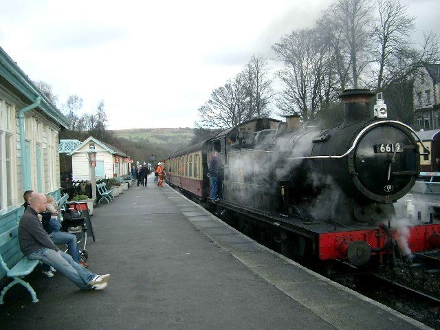 Steam up and ready to go!