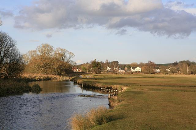 River Test, south of Stockbridge