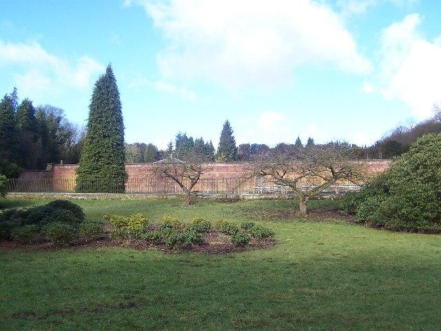 Gardens, Gledstone Hall