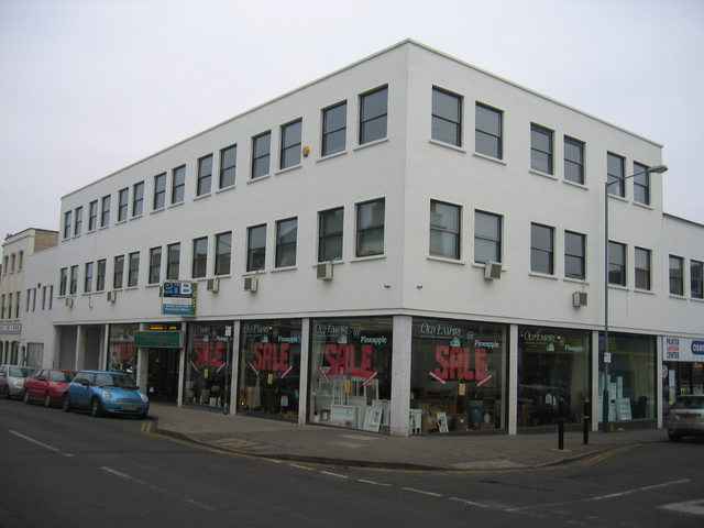 Former Leamington Spa Building Society offices