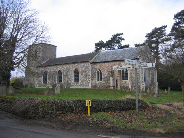 All Saints' church, Helhoughton, Norfolk