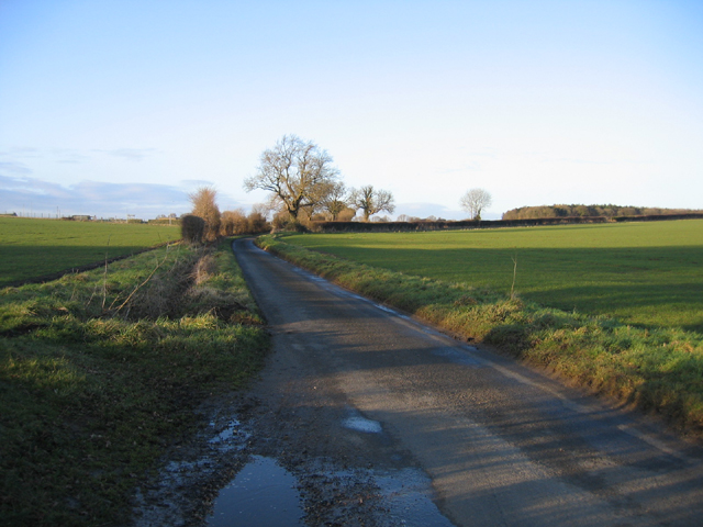 Country road, Weasenham St Peter, Norfolk