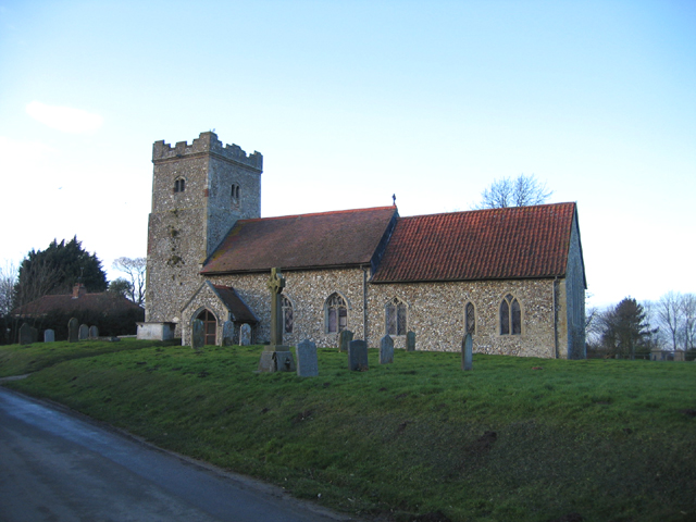 Wellingham parish church, Norfolk