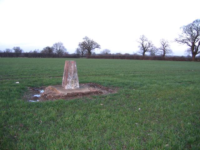 Triangulation pillar S2122, Wellingham, Norfolk