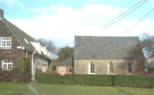 West Langdon village