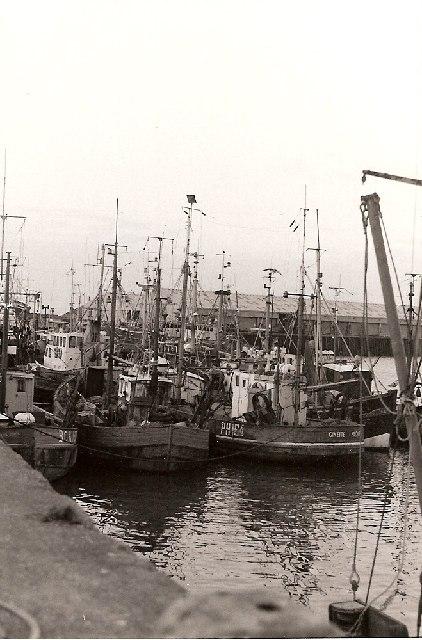 Fishing Boats at Fleetwood