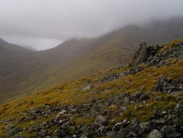 Beinn Eunaich south ridge