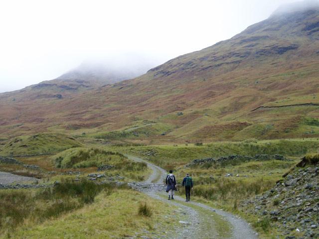 Track along Glen Lochay