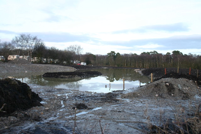 New Fishery Pond, Hallmore