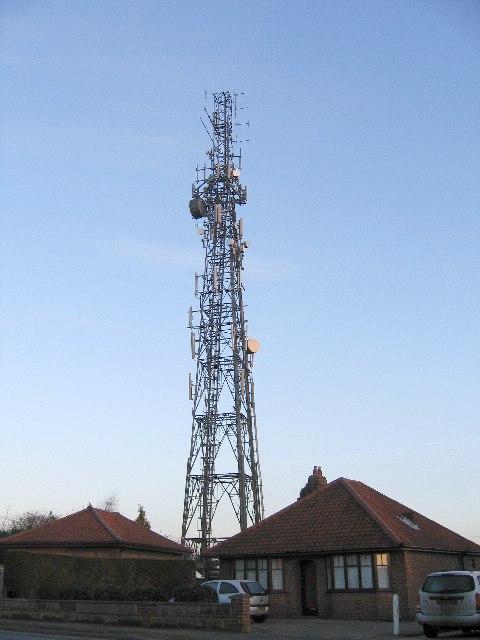 Phone/Radio mast in Thorpe St. Andrew