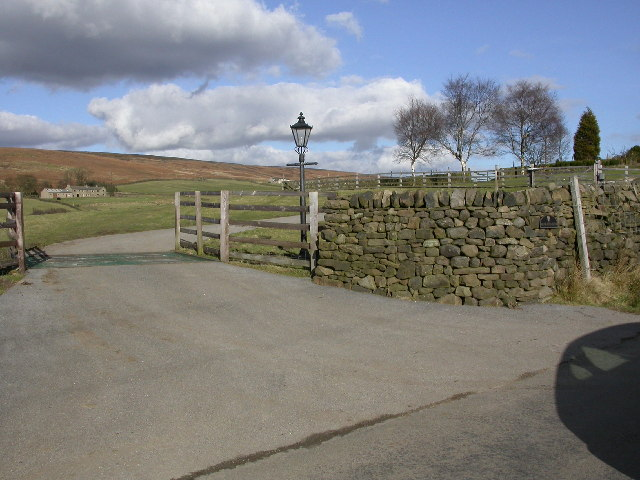 Gateway to Moor End Farm