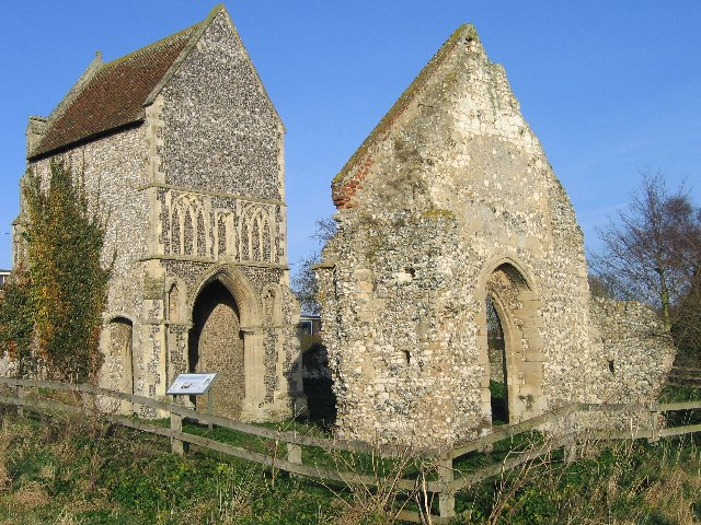 Burnham Norton Friary Gatehouse
