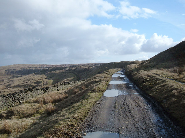 Pennine Bridleway and Rossendale Way, Cowpe Moss