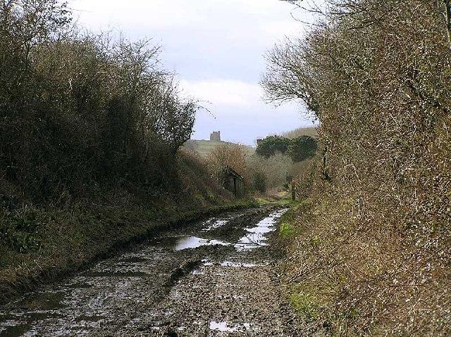 Disused railway near Portesham