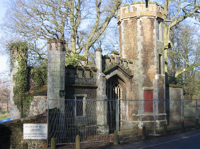 Hillington Hall Gatehouse