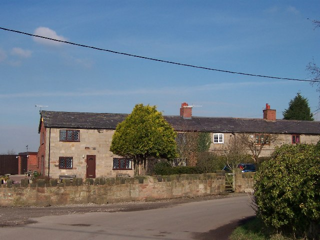 Cottages in Little Storeton Lane