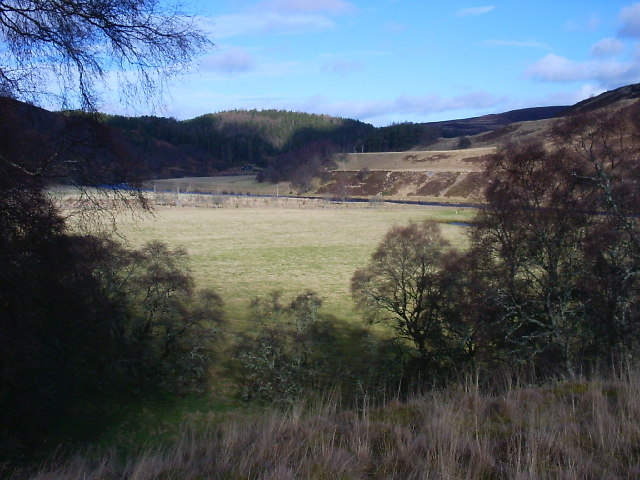 Plain of the River Findhorn near Daless