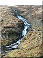 NM9501 : Waterfall on tributary to River Add by Patrick Mackie