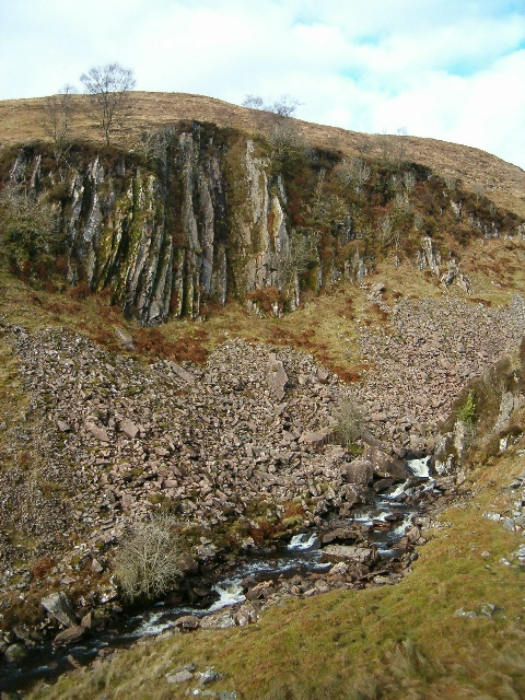Creag an Fhithich and River Add