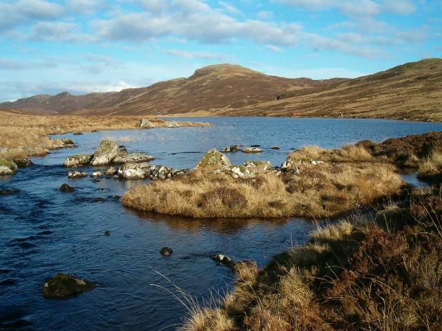 Foot of Loch Gainmheach