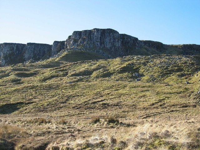 Crags Below The Storr