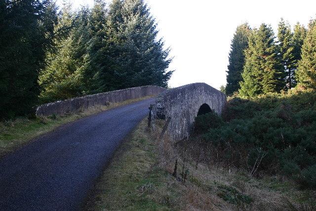 Bridge over Muckle Burn