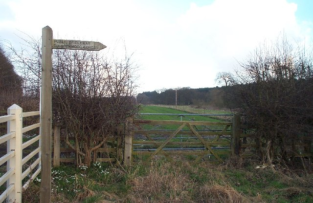 Signpost to Sherwood Forest