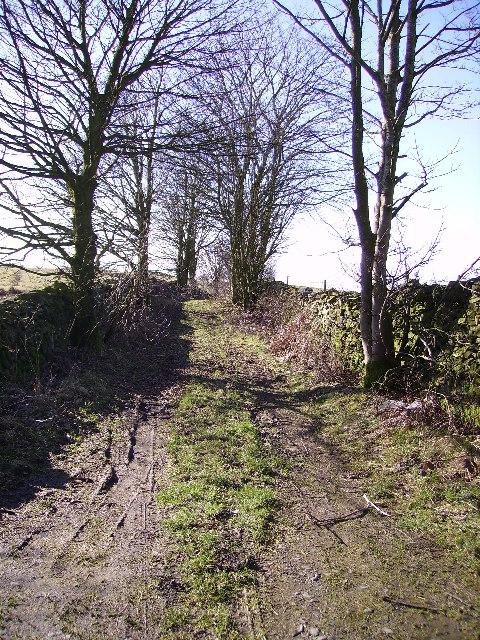 Bridleway Old Hutton