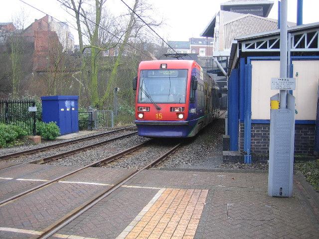 Metro station, Jewellery Quarter