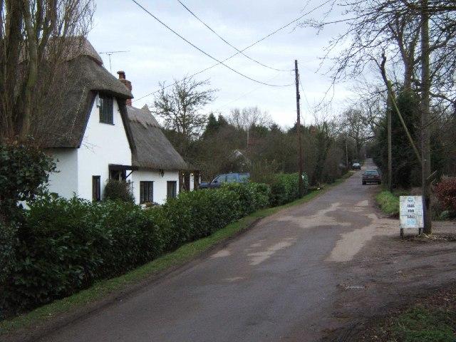 Cottage in Chalk Street.