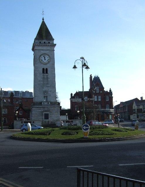 Clock Tower and War Memorial