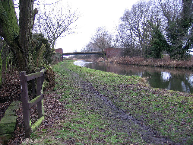 Trent and Mersey Canal near Willington