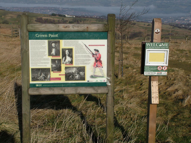 Sign at Crown Point Picnic Area
