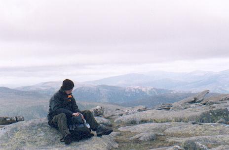 Carn a Choire Bhaidheach summit.
