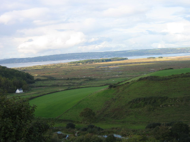 View towards Whiteford Point, Gower