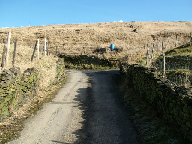 T junction at top of road