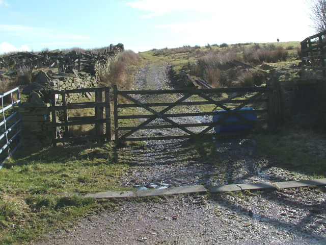 Farm Track in Crawshawbooth