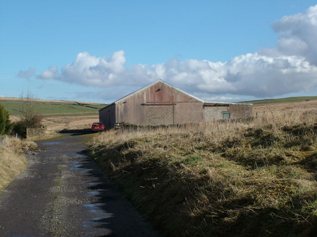 Farm building on Liver Hill