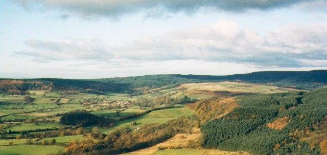 Hambleton scarp and South Wood