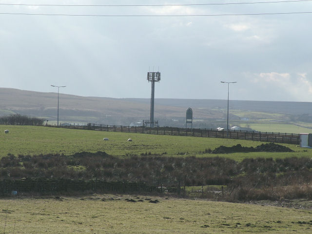 Phone Mast next to A56