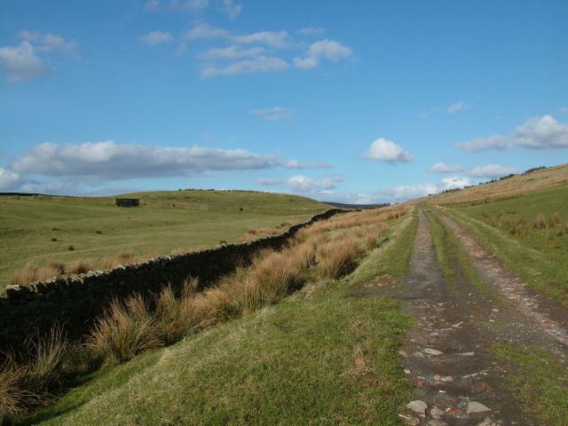 Track to Higher Withins farm