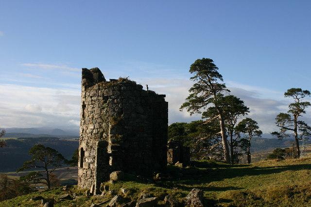 'Castle' near Drynie Farm