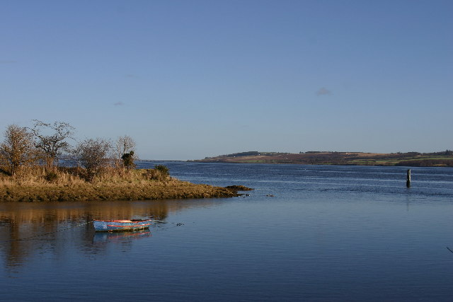 River Peffery reaches the Cromarty Firth