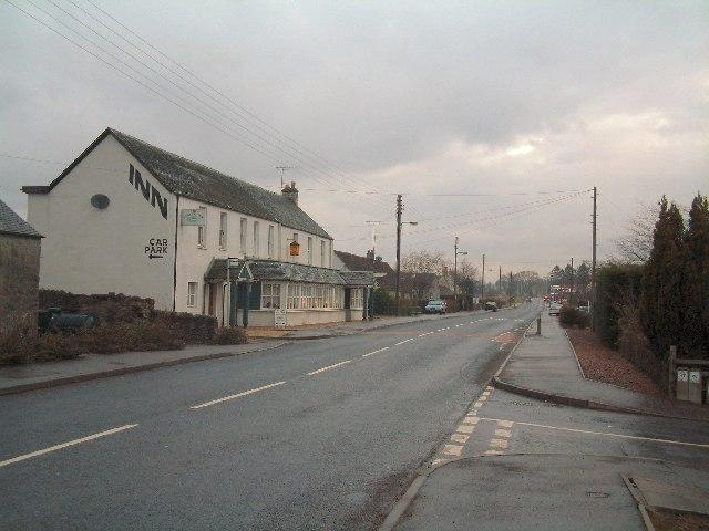 Main road through Guildtown
