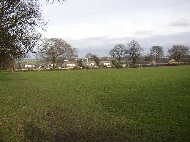 Football ground near Foxroyd Drive, Rastrick, Yorkshire