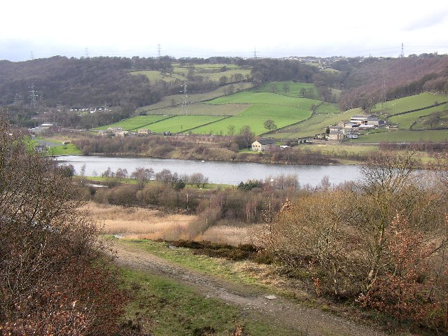 View from Reins Wood, Rastrick, Yorkshire