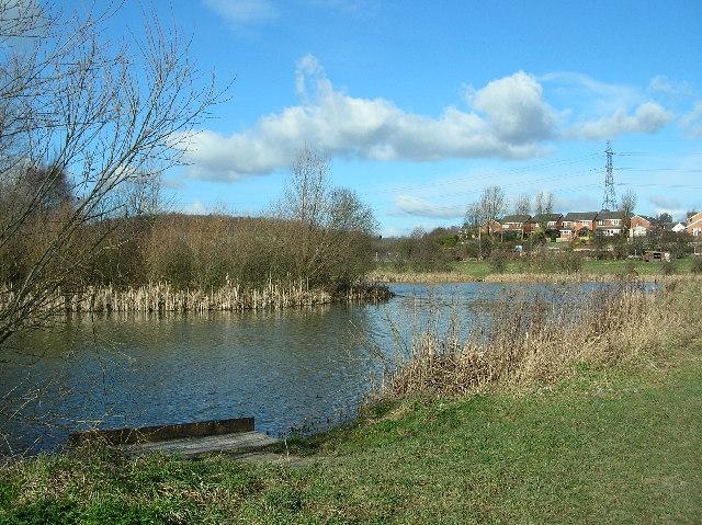 Fishing Ponds off Brigshaw Lane, Kippax