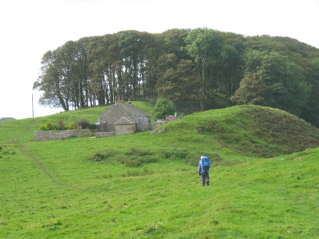 Corner Cottage on Sewingshields Farm, Hadrian's Wall