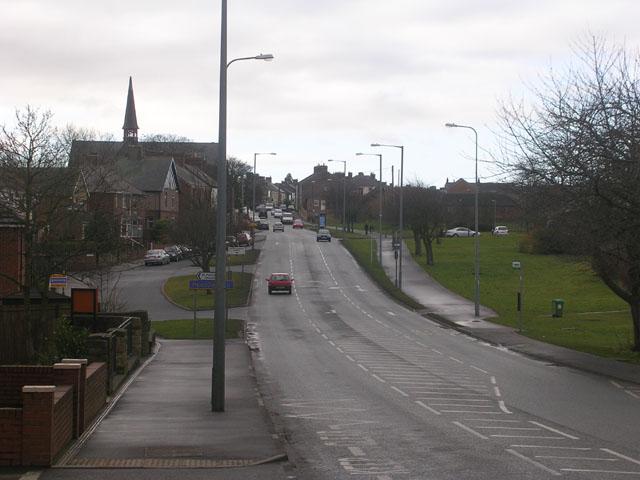 Lobley Hill Road, between Langley Moor and Meadowfield