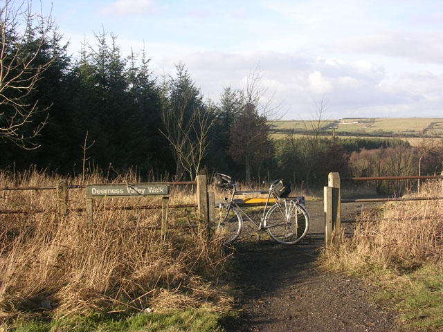 Deerness Valley Path, near Stanley Crook